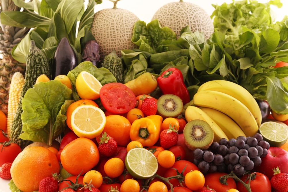 Овощная и фруктовая диет