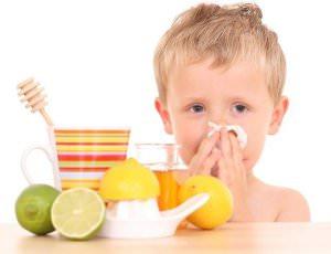 питание ребенка при простуде_питье