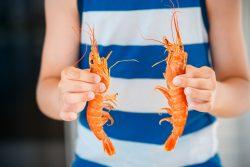 Морепродукты в питании детей