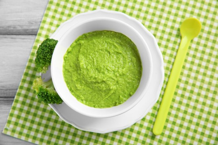 Рецепт брокколи для первого прикорма