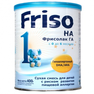 смесь на основе гидролизата_Frisolak ГА