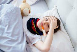 Питание ребенка во время простуды и гриппа