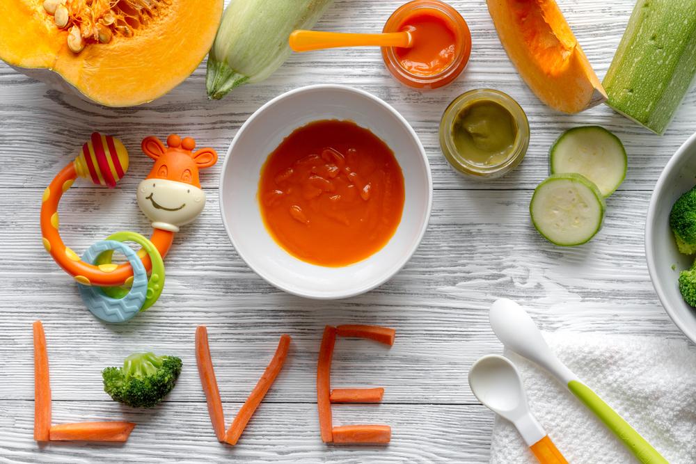 Овощное пюре для ребенка – состав и правила приготовления