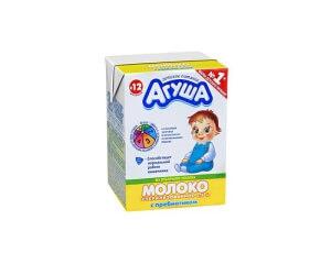 детское молоко_агуша