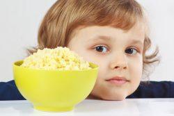 Пшенная каша для ребенка: польза и вред