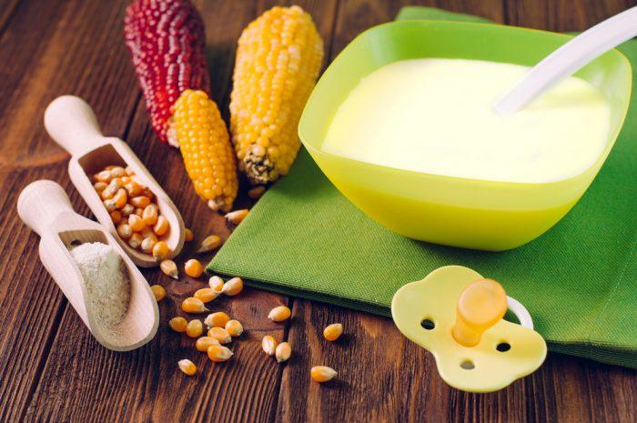 Как сварить кукурузную кашу ребенку