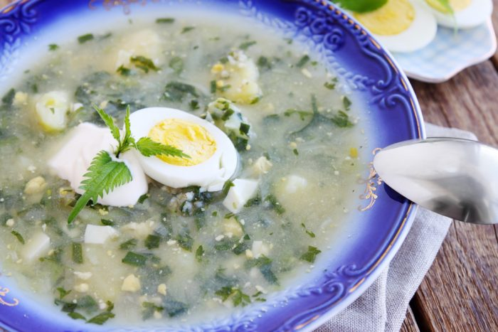 Щавелевый суп с какого возраста можно детям
