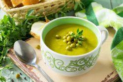 Можно ли ребенку в год гороховый суп